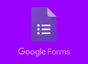 collecting data with google forms