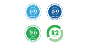 iso & r2 certifications